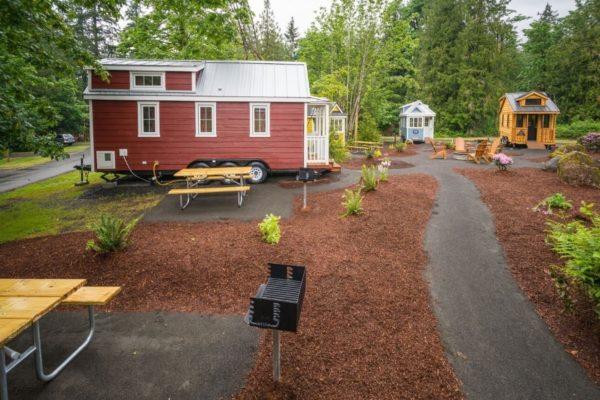 Scarlett Tiny House at Mt Hood Tiny House Village 0021