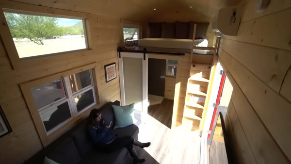 Tiny Mansion Video Tour: Uncharted Tiny Homes
