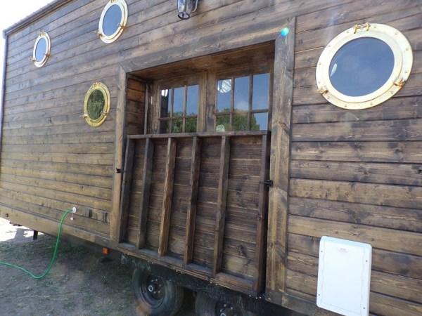 Off Grid Ship Yard Tiny House on Wheels