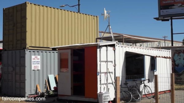 Shipping Container Town Experiment 009