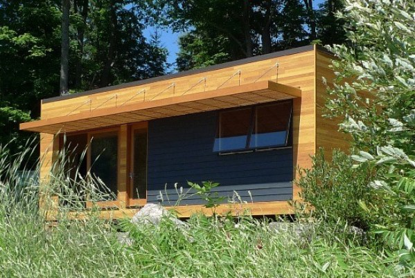475 Sq. Ft. Solo 36 Bunkie Modern Tiny Cabin