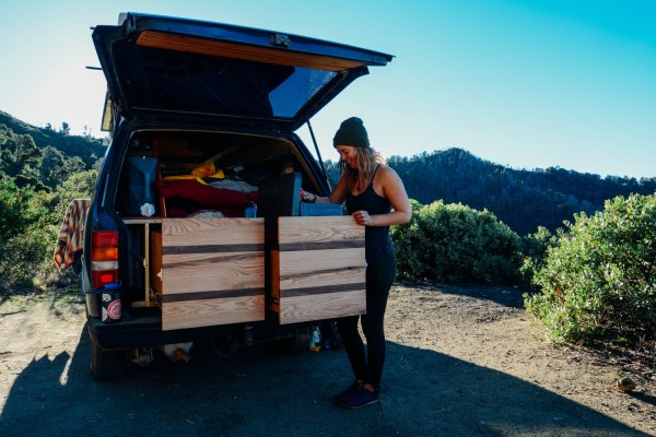 Solo Female Living out of an 87 Toyota Van 005