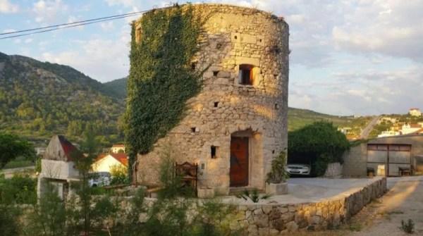 Stone Tower Cabin in Croatia 001