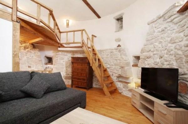 Stone Tower Cabin in Croatia 002