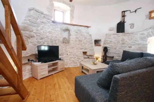 Stone Tower Cabin in Croatia 003