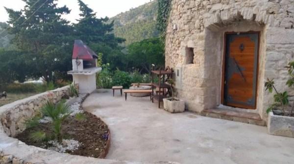Stone Tower Cabin in Croatia 0030