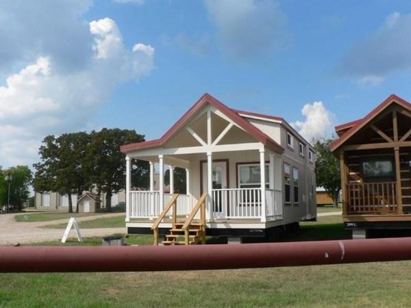 400 Sq. Ft. Sunnyside Park Model Tiny House on Wheels