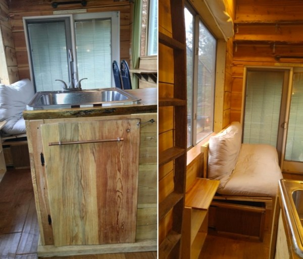 Sustainable Tiny House on Wheels For Sale 004