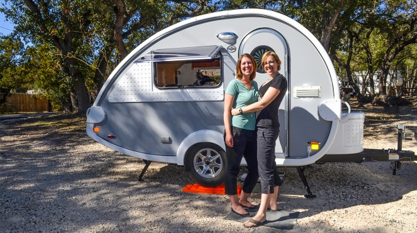 Couple Living In A Tab Teardrop Trailer Full Time