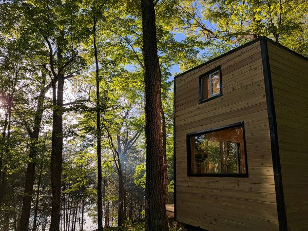 The Auburn Cabinscape Ontario Tiny House Vacation