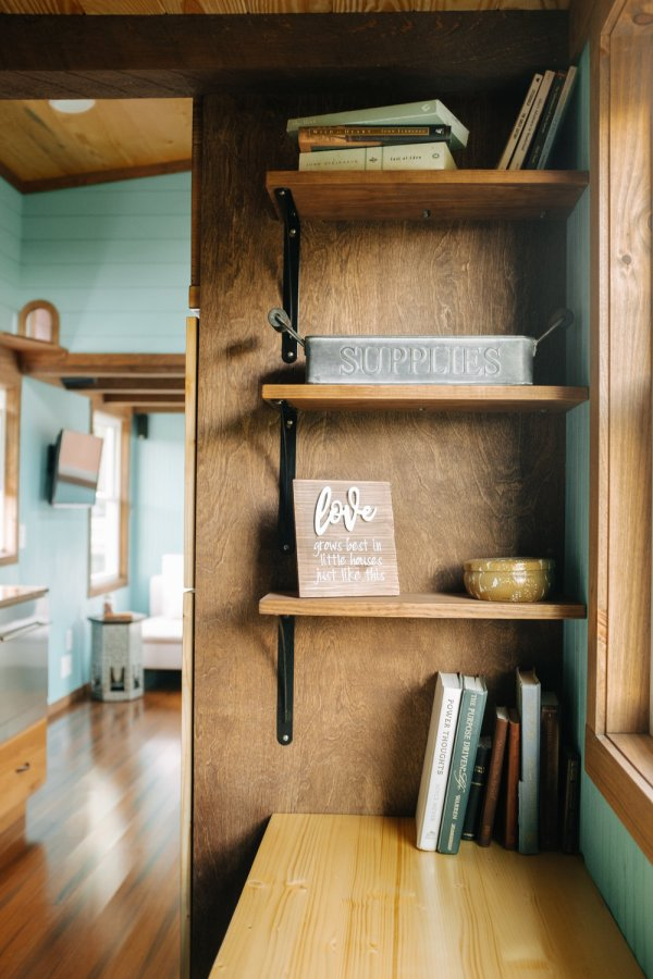 The Big Whimsy 30ft Tiny Home by Wind River Tiny Homes 0036