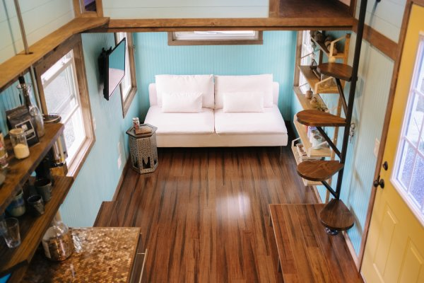 The Big Whimsy 30ft Tiny Home by Wind River Tiny Homes 0045