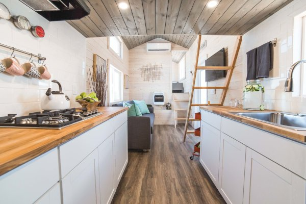 the bunkhouse new model from uncharted tiny homes