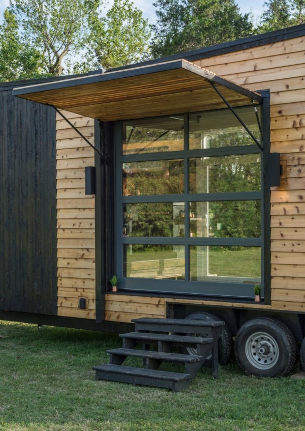 the escher tiny house on wheels by new frontier tiny homes