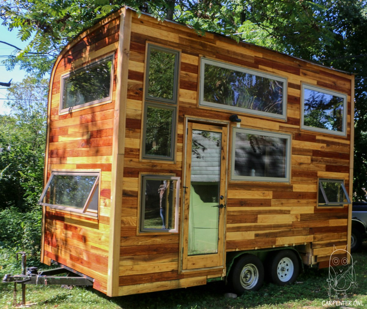 The Fiddlin Snail Tiny Home By Carpenter Owl