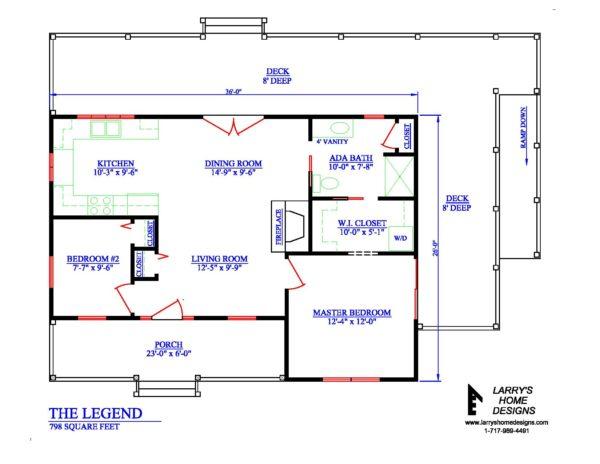 Tiny Kitchen Design Plans