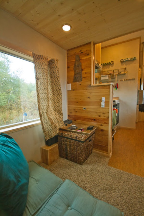 Yup! A Tiny House with Carpet