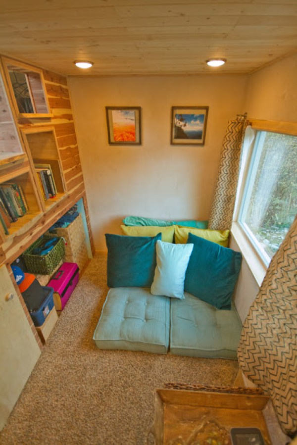 Cozy Tiny House with Carpeting