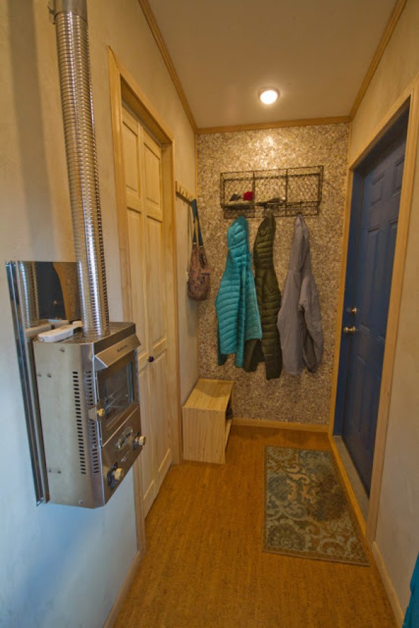 Really Nice Entry in this Tiny House