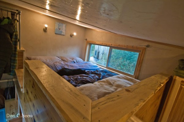 Loft Bedroom in the Lucky House