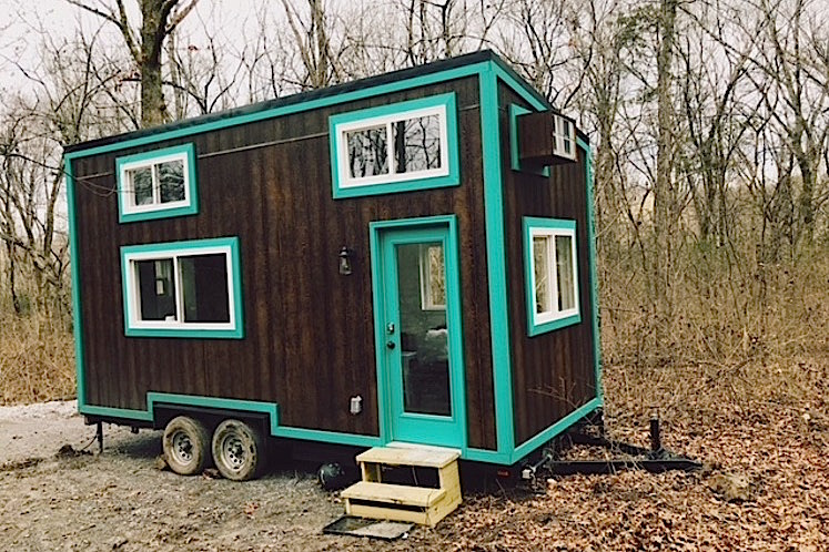 the nash tiny house 20ft tiny house vacation in nashville. Black Bedroom Furniture Sets. Home Design Ideas