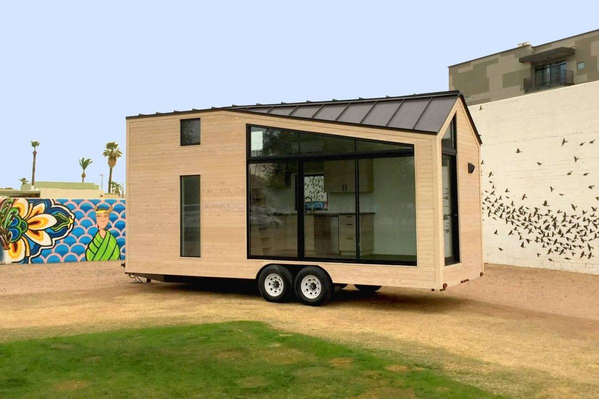 The nest tiny house vacation in pheonix for Tiny house vacation home