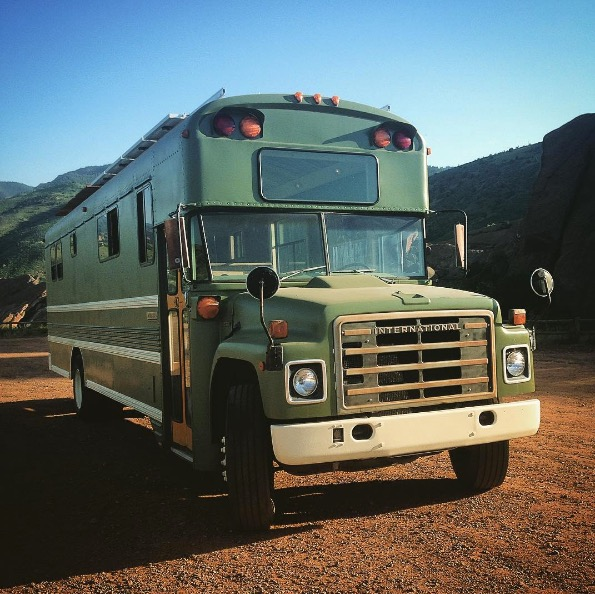 Man Converts School Bus Into His Home Then Starts A