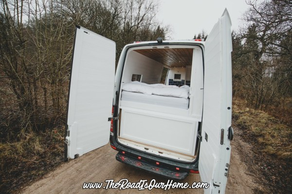 The Road is Our Home Sprinter Conversion 007