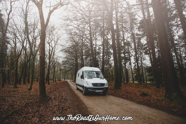 The Road is Our Home Sprinter Conversion 009