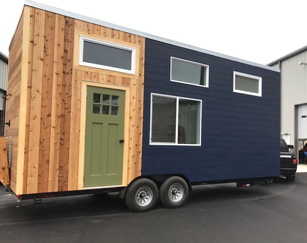 288 Sq. Ft. Tiny House on Wheels: The Sparrow by Tiny Hamptons