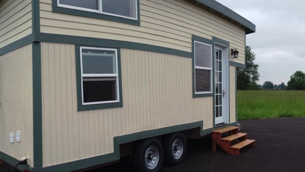 The Steam Punk Tiny House on Wheels by Tiny Smart House 0011