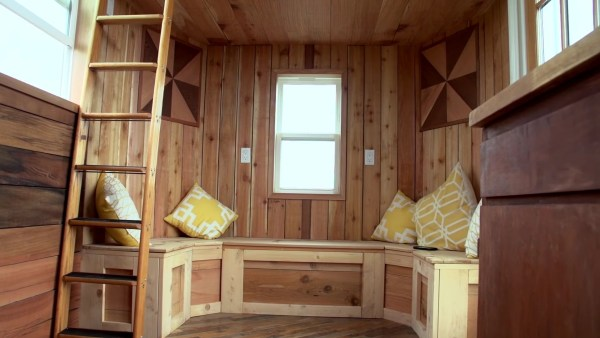 The Steam Punk Tiny House on Wheels by Tiny Smart House 005