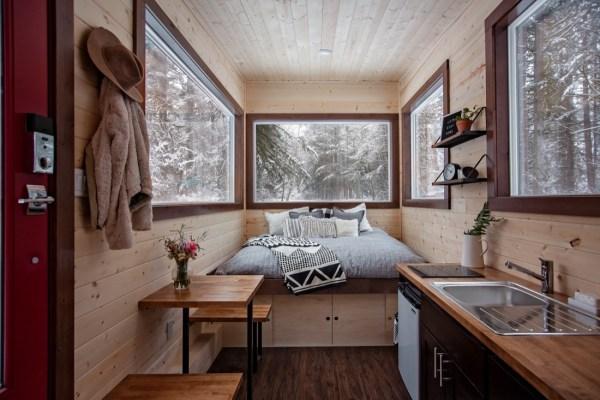 Tiny Home Designs: The 20ft Vantage Tiny House By Tiny Heirloom