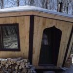 Tiny Adirondack Yurt Cabin 001