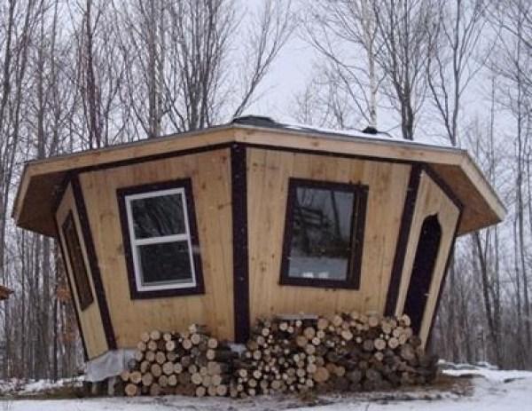 Tiny Adirondack Yurt Cabin 004