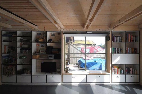Tiny Floating Home in Prague 005