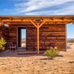 Tiny Homestead Cabin Shell on Five Acres in Joshua Tree CA_002