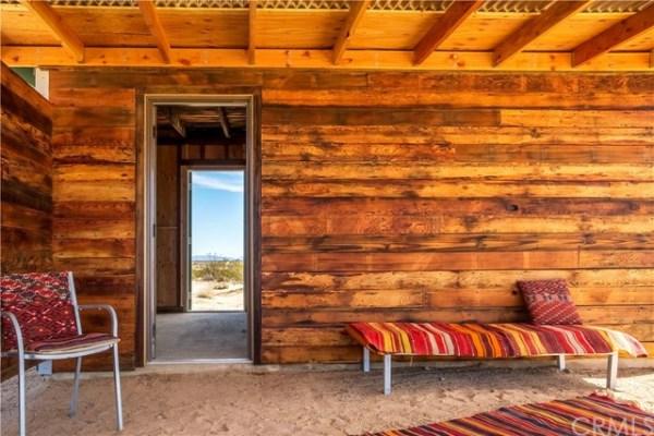 Tiny Homestead Cabin Shell on Five Acres in Joshua Tree CA_003