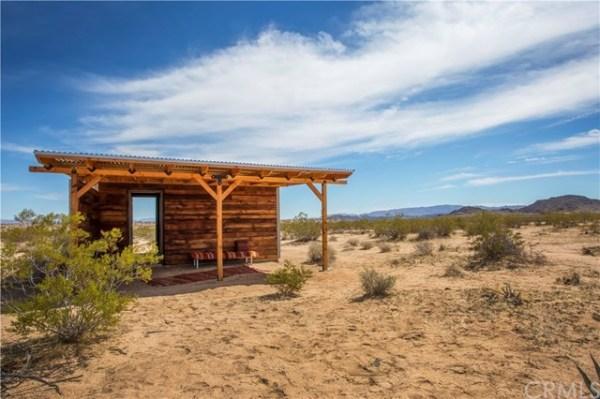 Tiny Homestead Cabin Shell on Five Acres in Joshua Tree CA_009