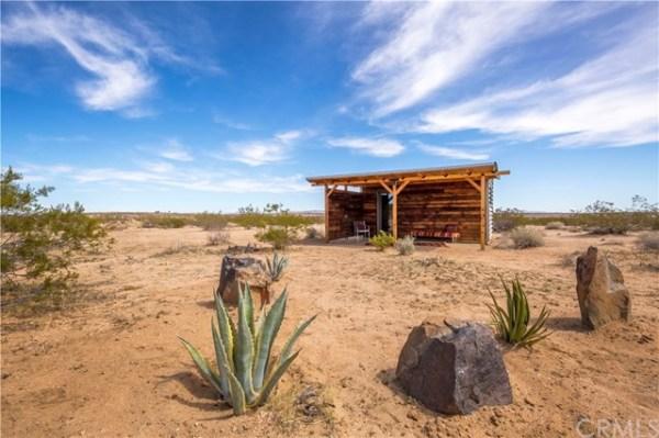 Tiny Homestead Cabin Shell on Five Acres in Joshua Tree CA_010