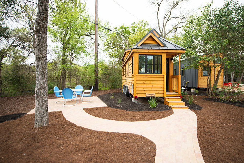 The Sabine Tumbleweed Cypress Model At Tiny House Hotel