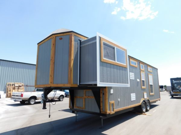 Tiny House Toy Hauler RV A Tiny House On Wheels With A