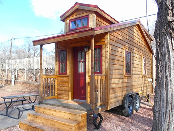 Tiny House Vacation in Colorado Springs CO 01