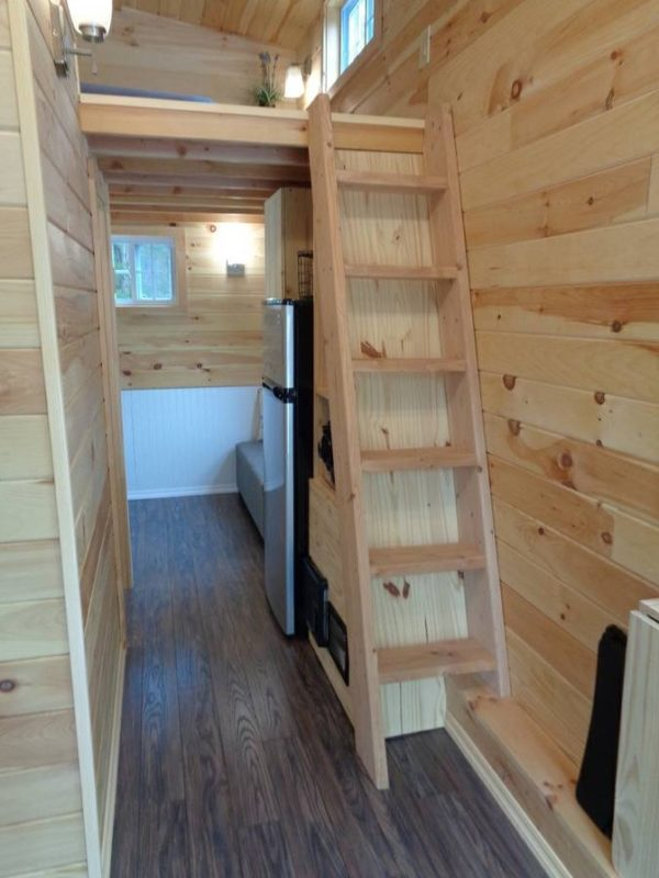 Custom Tiny House On Wheels 8 X20 For Sale In Nj