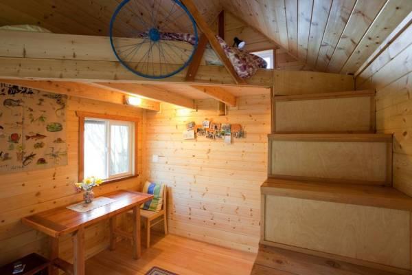 Tiny House on a Tiny Farm in Victoria, BC