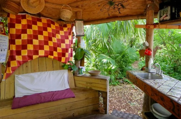 Tiny Loft Cabin on an Urban Permaculture Farm in Miami 0013