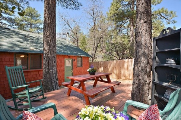 Tiny Mountain Cabin in Idyllwild California For Sale with Land 0020