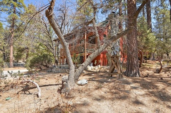 Tiny Mountain Cabin in Idyllwild California For Sale with Land 0022