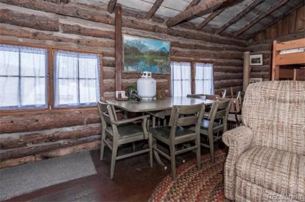 Tiny Off Grid Colorado Log Cabin For Sale Originally