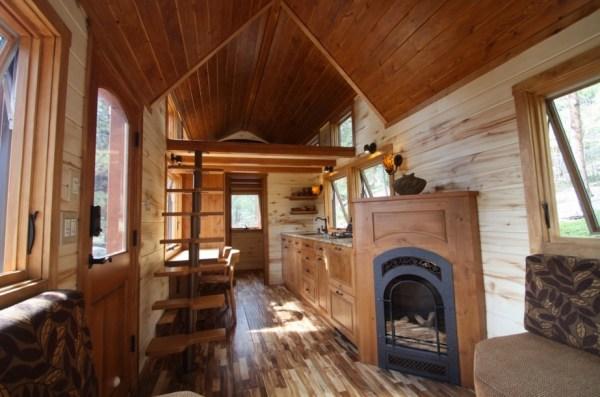 Tiny Stone Cottage on Wheels by Simblissity 002
